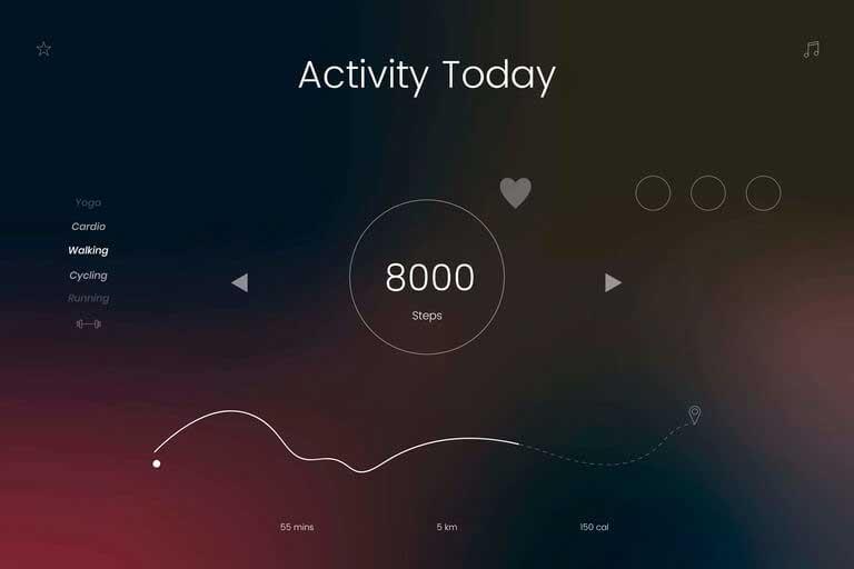 Mi fitness tracker